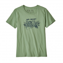 Women's We Want Wilderness Organic Crew T-Shirt