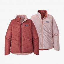 Girls' Reversible Snow Flower Jkt by Patagonia in Sioux Falls SD