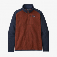 Men's Better Sweater 1/4 Zip by Patagonia in Sioux Falls SD