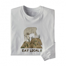 Men's L/S Eat Local Goat Responsibili-Tee