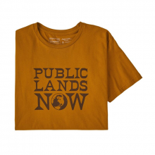 Men's Public Lands Now Organic T-Shirt by Patagonia