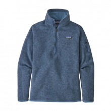 Women's Better Sweater 1/4 Zip by Patagonia in Red Deer Ab