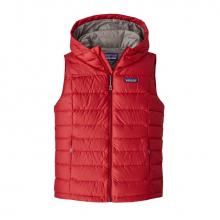 Women's Hi-Loft Down Hooded Vest by Patagonia in Red Deer County Ab