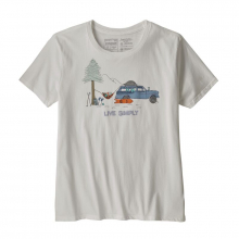 Women's Live Simply Lounger Organic Crew T-Shirt by Patagonia in Sioux Falls SD