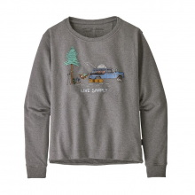 Women's Live Simply Lounger Uprisal Crew Sweatshirt by Patagonia in Sioux Falls SD