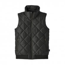 Women's Prow Bomber Vest by Patagonia in Iowa City IA