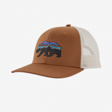 Fitz Roy Bear Trucker Hat by Patagonia in Vancouver Bc