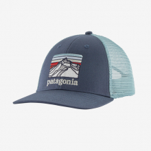 Line Logo Ridge LoPro Trucker Hat by Patagonia in Canmore Ab