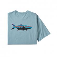 Men's Fitz Roy Fish Organic T-Shirt