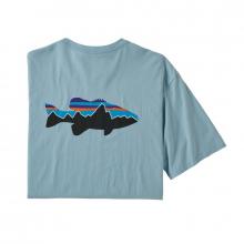 Men's Fitz Roy Smallmouth Organic T-Shirt by Patagonia