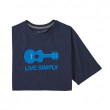 Men's Live Simply Guitar Responsibili-Tee