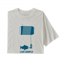 Men's Live Simply Happy Hour Organic T-Shirt