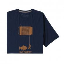 Men's Live Simply Happy Hour Organic T-Shirt