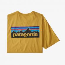 Men's P-6 Logo Organic T-Shirt by Patagonia in Aurora CO