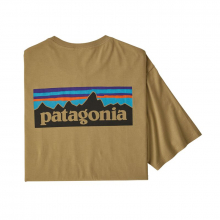 Men's P-6 Logo Organic T-Shirt by Patagonia