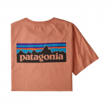 Men's P-6 Logo Organic T-Shirt by Patagonia in Arcadia Ca