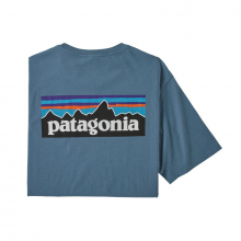 Men's P-6 Logo Organic T-Shirt by Patagonia in Fremont Ca
