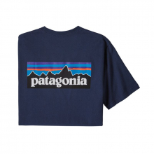 Men's P-6 Logo Responsibili-Tee by Patagonia in Blacksburg VA