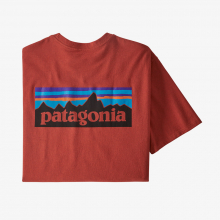 Men's P-6 Logo Responsibili-Tee by Patagonia