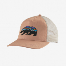 Women's Fitz Roy Bear Layback Trucker Hat by Patagonia in Blacksburg VA