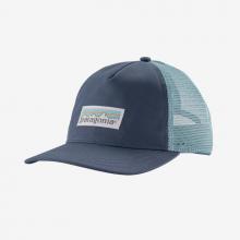 Women's Pastel P-6 Label Layback Trucker Hat by Patagonia in Blacksburg VA