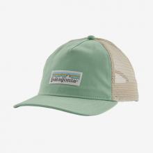Women's Pastel P-6 Label Layback Trucker Hat by Patagonia in Chelan WA