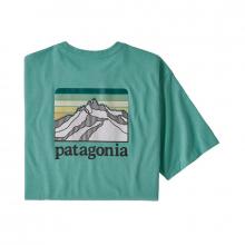 Men's Line Logo Ridge Pocket Responsibili-Tee by Patagonia in Fayetteville Ar