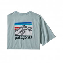 Men's Line Logo Ridge Pocket Responsibili-Tee by Patagonia in Tuscaloosa Al