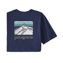 Men's Line Logo Ridge Pocket Responsibili-Tee by Patagonia in Vancouver BC