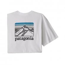Men's Line Logo Ridge Pocket Responsibili-Tee by Patagonia in Hope Ar