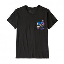 Women's Flying Fish Organic Pocket T-Shirt