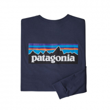 Men's L/S P-6 Logo Responsibili-Tee by Patagonia in Blacksburg VA
