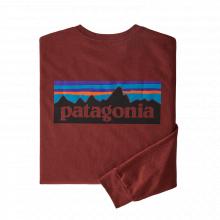 Men's L/S P-6 Logo Responsibili-Tee by Patagonia in Kirkland WA