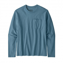 Men's Long-Sleeve Organic Cotton MW Pocket Tee