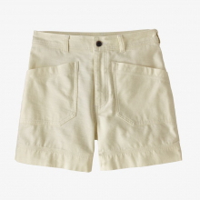 Women's Organic Cotton Slub Woven Shorts