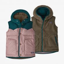 Girls' Reversible Bivy Hoody Vest