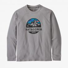 Men's Fitz Roy Scope Organic Crew Sweatshirt by Patagonia