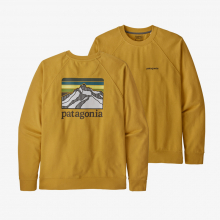 Men's Line Logo Ridge Organic Crew Sweatshirt by Patagonia