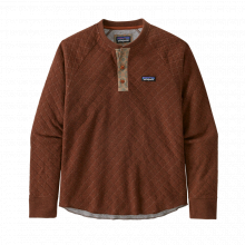 Men's Wool Blend Diamond Quilt Henley by Patagonia