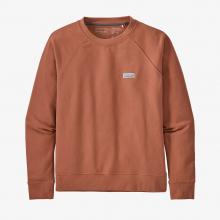 Women's Pastel P-6 Label Organic Crew Sweatshirt by Patagonia