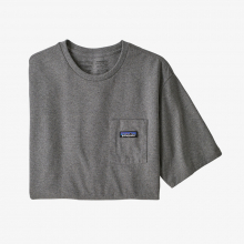 Men's P-6 Label Pocket Responsibili-Tee by Patagonia in Thornton CO