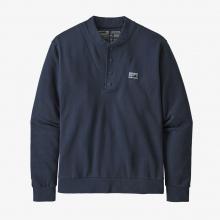 Men's Regenerative Organic Pilot Cotton Snap Sweatshirt