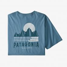 Men's Tube View Organic T-Shirt by Patagonia