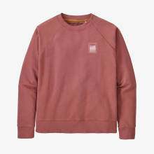 Women's Alpine Icon Regenerative Organic Certified Cotton Crew S by Patagonia in Sioux Falls SD