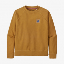 Women's Alpine Icon Regenerative Organic Certified Cotton Crew S by Patagonia in Lakewood CO