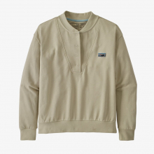 Women's Regenerative Organic Pilot Cotton Snap Sweatshirt by Patagonia