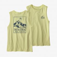 Women's Ridgeline Runner Organic Muscle Tee by Patagonia in Chelan WA