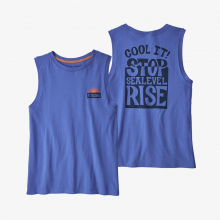 Women's Stop the Rise Organic Muscle Tee by Patagonia