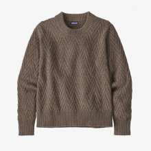 Women's Recycled Wool Crewneck Sweater by Patagonia in Sioux Falls SD