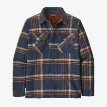 Men's Insulated Organic Cotton MW Fjord Flannel Shirt by Patagonia in Sioux Falls SD